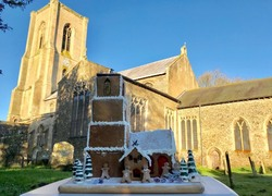 Cawston gingerbread church 750